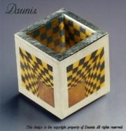 Optical Illusion Cube 1 inside