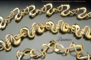 Three Bracelets 14k