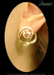 Rolling Surf Earrings