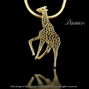 Giraffe Pendant for Mom