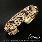 Tanzanite, Sapphire, and Amethysts Fine