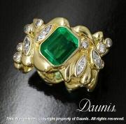 Emerald Legacy Ring