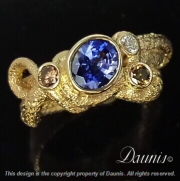 Atuik Bow ring 14k